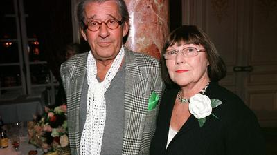 Star-Fotograf Helmut Newton und seine Ehefrau June (2001).