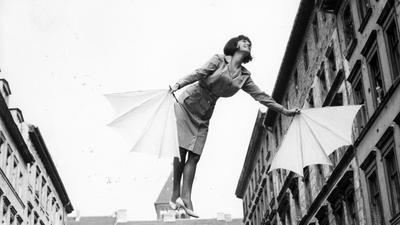 """Melania Jakubiskova in einer Szene des Films """"Fräulein Schmetterling"""" der DEFA, den das DDR-Regime vor erscheinen einstweilen verboten hat."""