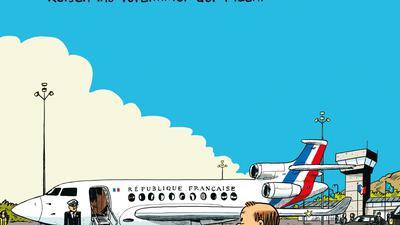"""""""Comédie Française - Reisen ins Vorzimmer der Macht"""" von Mathieu Sapin, aus dem Französischen von Silv Bannenberg."""