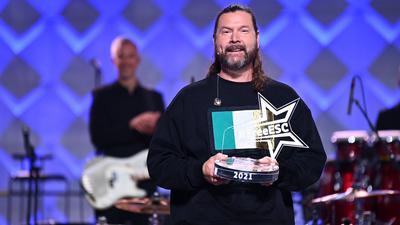 """Musiker Rea Garvey hat für sein Heimatland Irland den zweiten """"Free European Song Contest"""" von Stefan Raab und ProSieben gewonnen."""