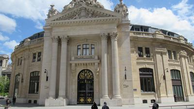 Das neuer Pariser Pinault-Museum liegt zwischen dem Louvre und dem Centre Pompidou.