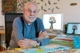 Er hat mehr als 100 Bücher veröffentlicht. Jetzt ist Eric Carle im Alter von 91 Jahren gestorben.