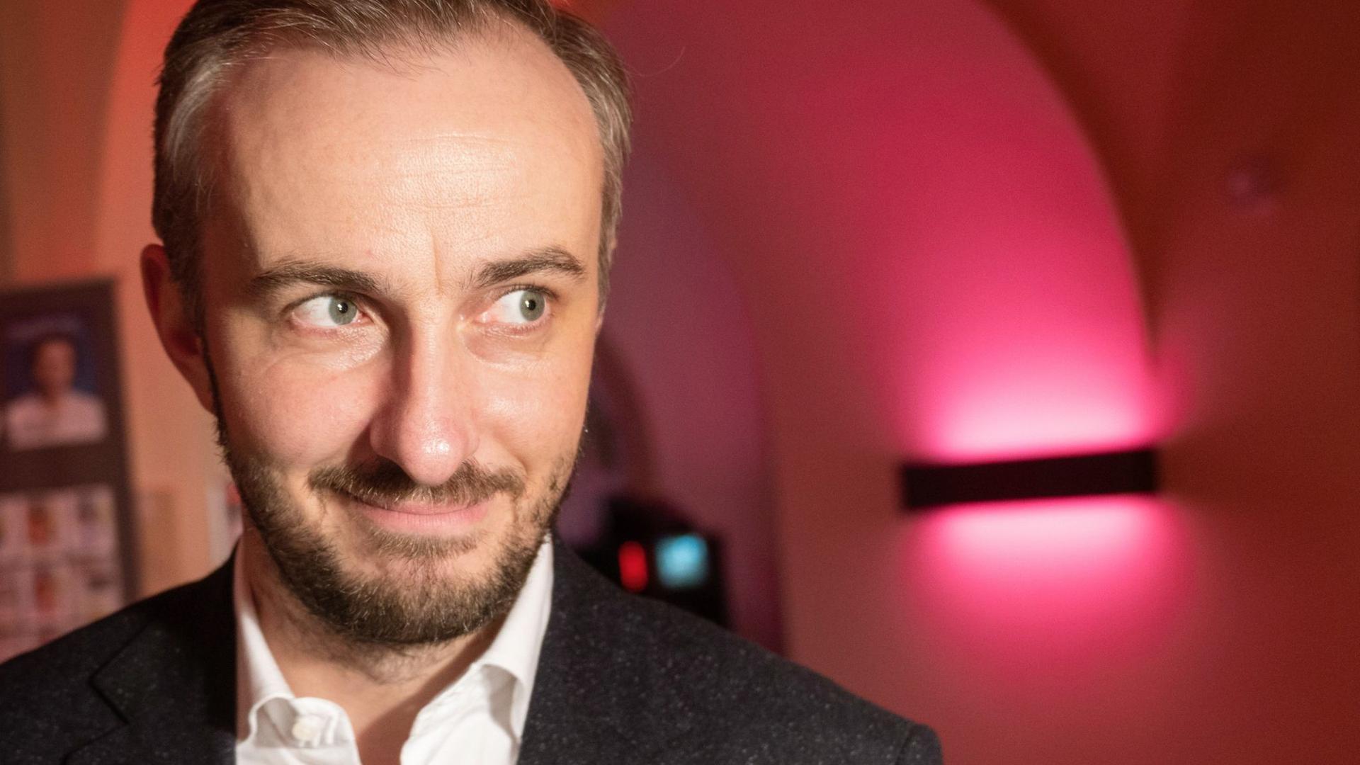 "Jan Böhmermann gibt dem ""ZDF Magazin Royale"" Gesicht."