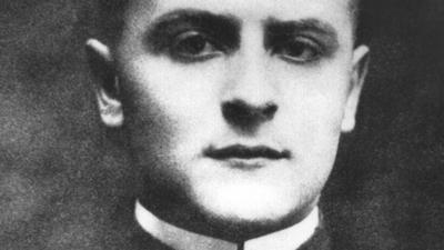 """Der amerikanische Schriftsteller F. Scott Fitzgerald als junger Mann: Als Chronist der """"Wilden Zwanziger"""" wurde er berühmt."""