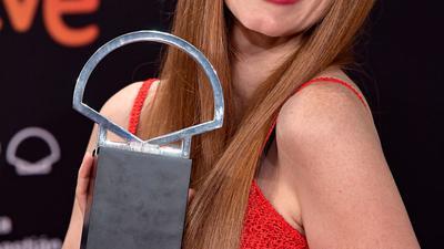 US-Schauspielerin Jessica Chastain wurde in San Sebastián als Beste Hauptdarstellerin ausgezeichnet.