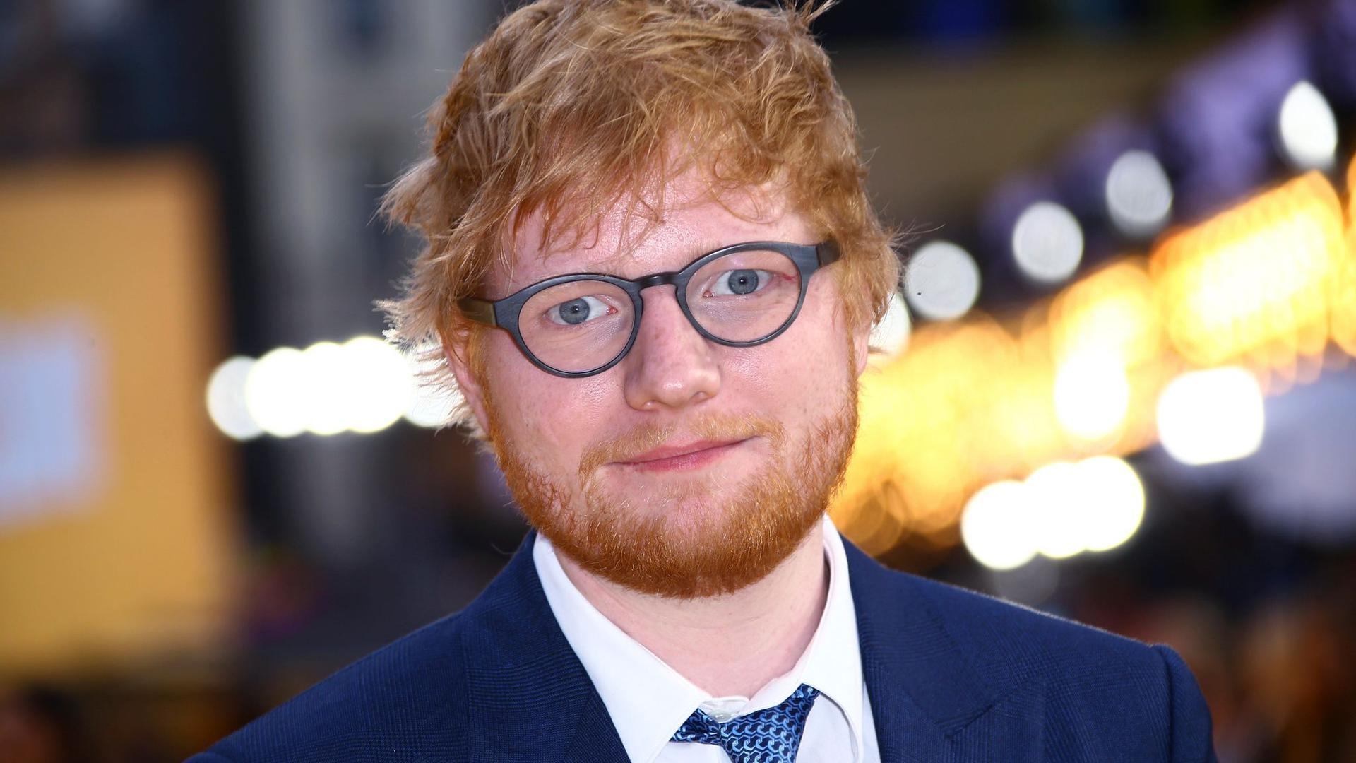 Ed Sheeran ist ein großer Fan von Elton John.