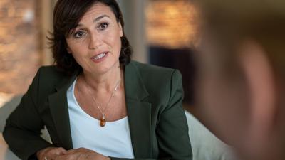 Sandra Maischberger talkt in Zukunft an zwei Abenden in der Woche im Ersten.