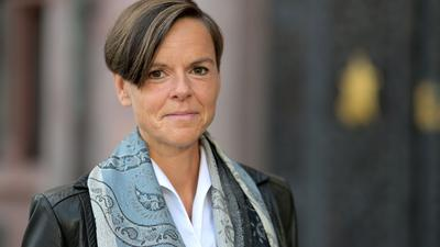 """Antje Rávik Strubel, Autorin des Buches """"Blaue Frau"""", ist mit dem Deutschen Buchpreis ausgezeichnet worden."""