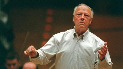 Der niederländische Dirigent Bernard Haitink ist tot.