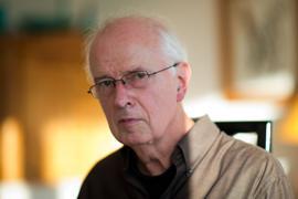 Der Komponist und Dirigent Udo Zimmermann.