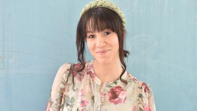 Samah Abou-Khalil aus Kandel liebt Stilbrüche und ist vom Hut-Motto begeistert.