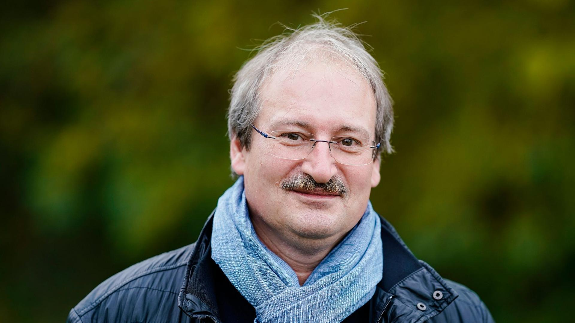 Dirk Reichle, Wissenschaftlicher Direktor der Kommunalen Aktionsgemeinschaft zur Bekämpfung der Schnakenplage (Kabs).