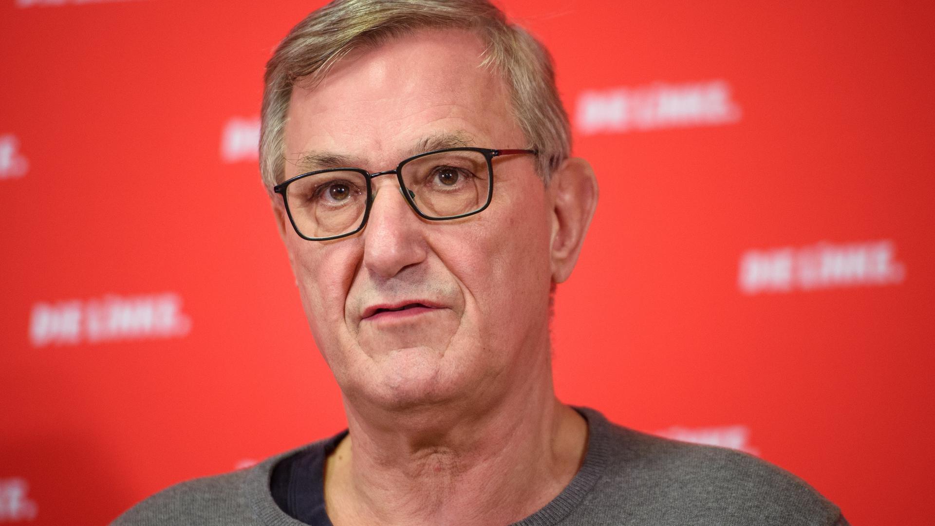 """Kritik an """"feudalen Zügen"""" der Politik in der Corona-Krise: Bernd Riexinger, Bundesvorsitzender der Linken, verlangt ein größeres Mitspracherecht des Bundestags."""