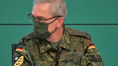 Oberst Thomas Köhring, Kommandeur des Landeskommandos Baden-Württemberg
