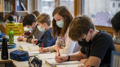 Infektionsherd Schule: Laut einer neuen Studie der Universität Zürich soll jeder fünfte Schüler seit dem vergangenen Sommer eine Covid-Erkrankung überstanden haben.