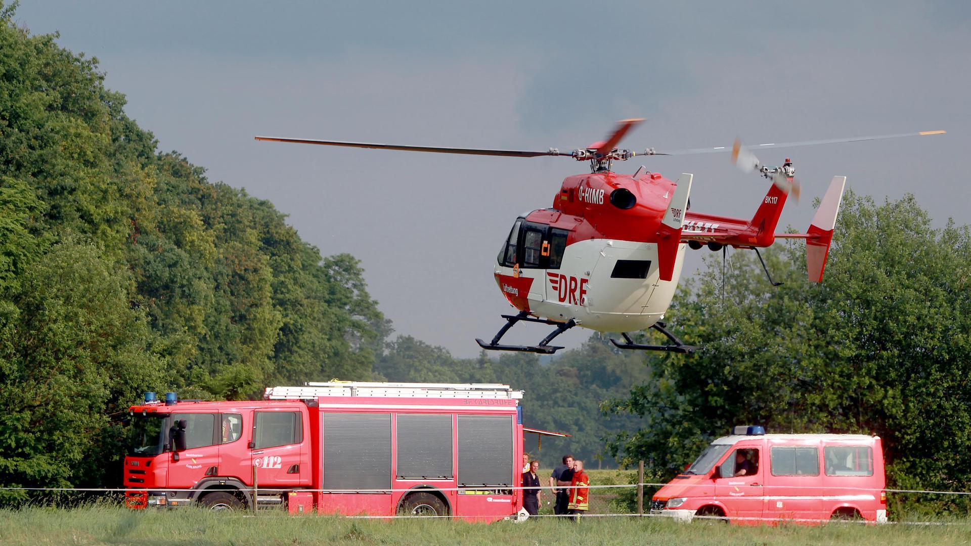 Flugzeugabsturz Flugzeugabsturz Flugplatz Rheinstetten am 30. Mai 2012
