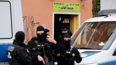 Gefahr für die Demokratie: In Deutschland sind islamistische Netzwerke aktiv, die unter Beobachtung der Polizei stehen.