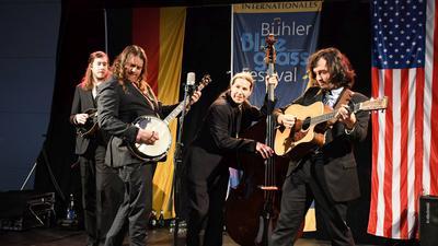 Die Band auf der Bühne