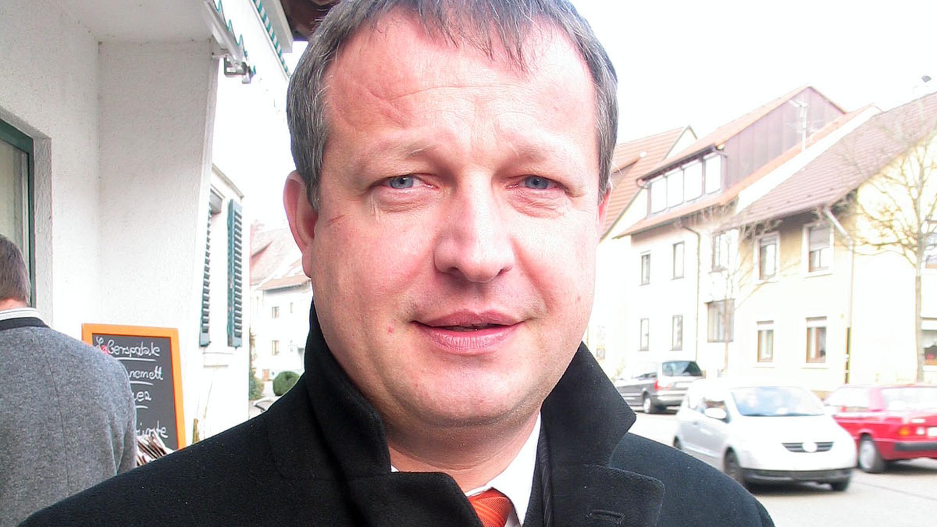 Karsten Mußler, Bürgermeister in Kuppenheim