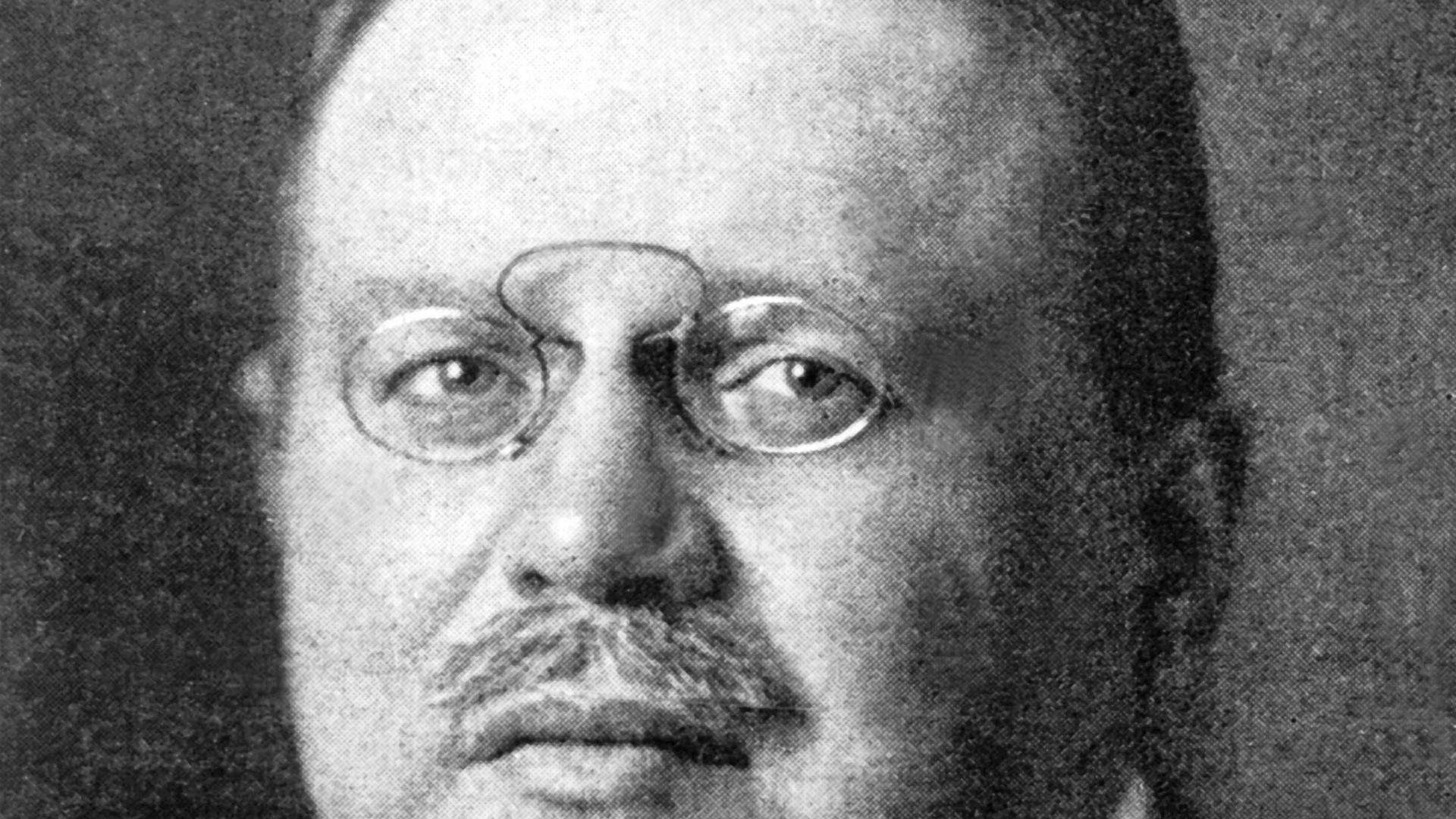 Der deutsche Politiker Matthias Erzberger in einer undatierten Aufnahme. Der große Politiker der Weimarer Republik begann und beendete sein Leben in Baden-Württemberg.