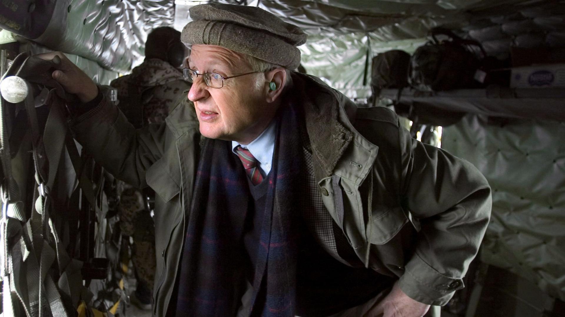 Jahrelange Erfahrung: Gunter Mulack war politischer EU-Berater für die Präsidentschaftswahlen in Kabul und  Botschafter in Pakistan. In der aktuellen Situation fordert er den Dialog mit den Taliban.