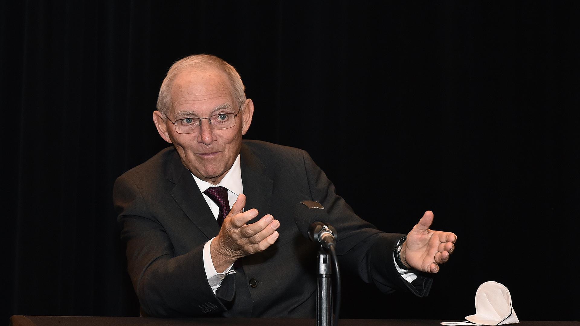 Der Ton unter den Abgeordneten ist sachlicher geworden, wie Bundestagspräsident Wolfgang Schäuble bemerkt hat.