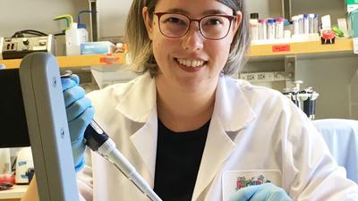 Erfolgreich bei der Verbesserung der Impfstoffe: Die junge Brettener Molekularbiologin Kathrin Leppek hat es gemeinsam mit US-Kollegen geschafft, die mRNA-Vakzine stabiler zu machen.