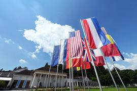 Aussenaufnahme des Kurhaus Baden-Baden. Ab dem 16.07.2021 findet die 44. Sitzung des Unesco-Weltererbekomitees statt, bei der über die Aufnahme von Kultur- und Naturstätten in die Welterbeliste beraten wird. Hierbei geht es auch um die Entscheidung zu Baden-Baden/«Great Spas of Europe» - bedeutendste Kurstädte Europas. Mit einer Entscheidung wird am 24.07.2021 gerechnet. +++ dpa-Bildfunk +++