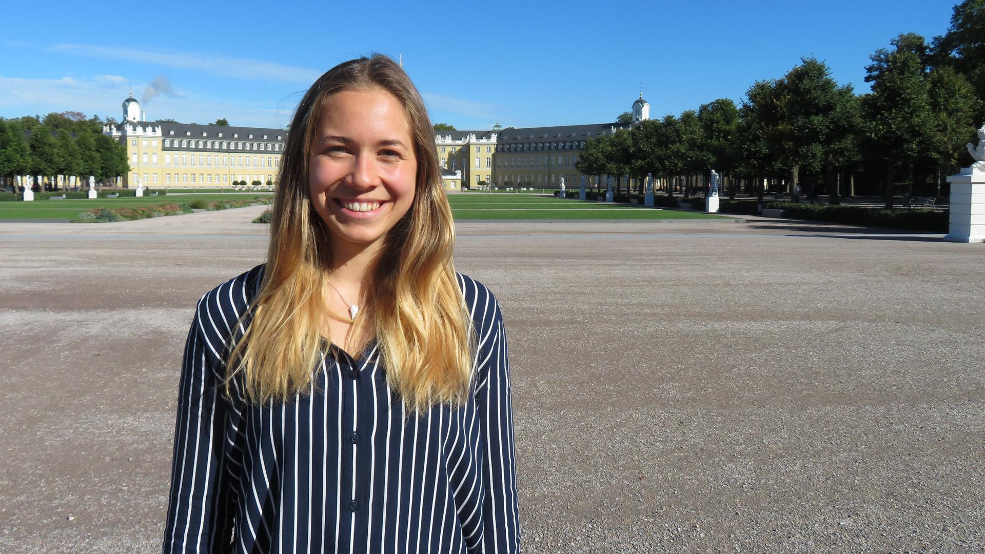 Grüner als die Grünen: Unzufrieden mit der Klimapolitik der Grünen ist die 19-jährige KIT-Studentin Sandra Overlack aus Rastatt. Darum engagiert sie sich im Vorstand der Klimaliste Baden-Württemberg, die bei der Landtagswahl im März antreten will.