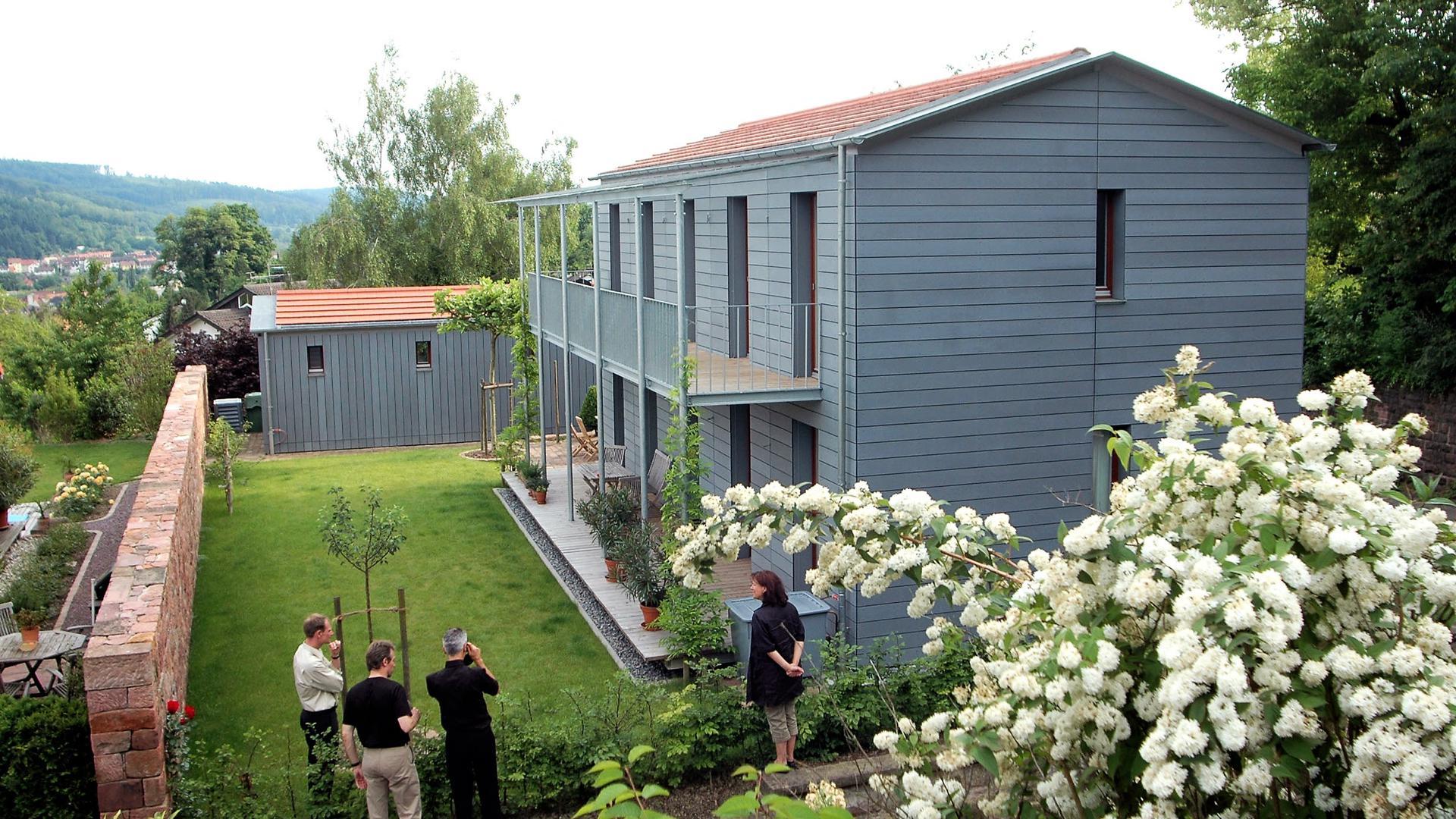 Das Einfamilienhaus des Architekten Richard Stihler in Lahr wurde 2005 vom Bund Deutscher Architekten (BDA) ausgezeichnet.