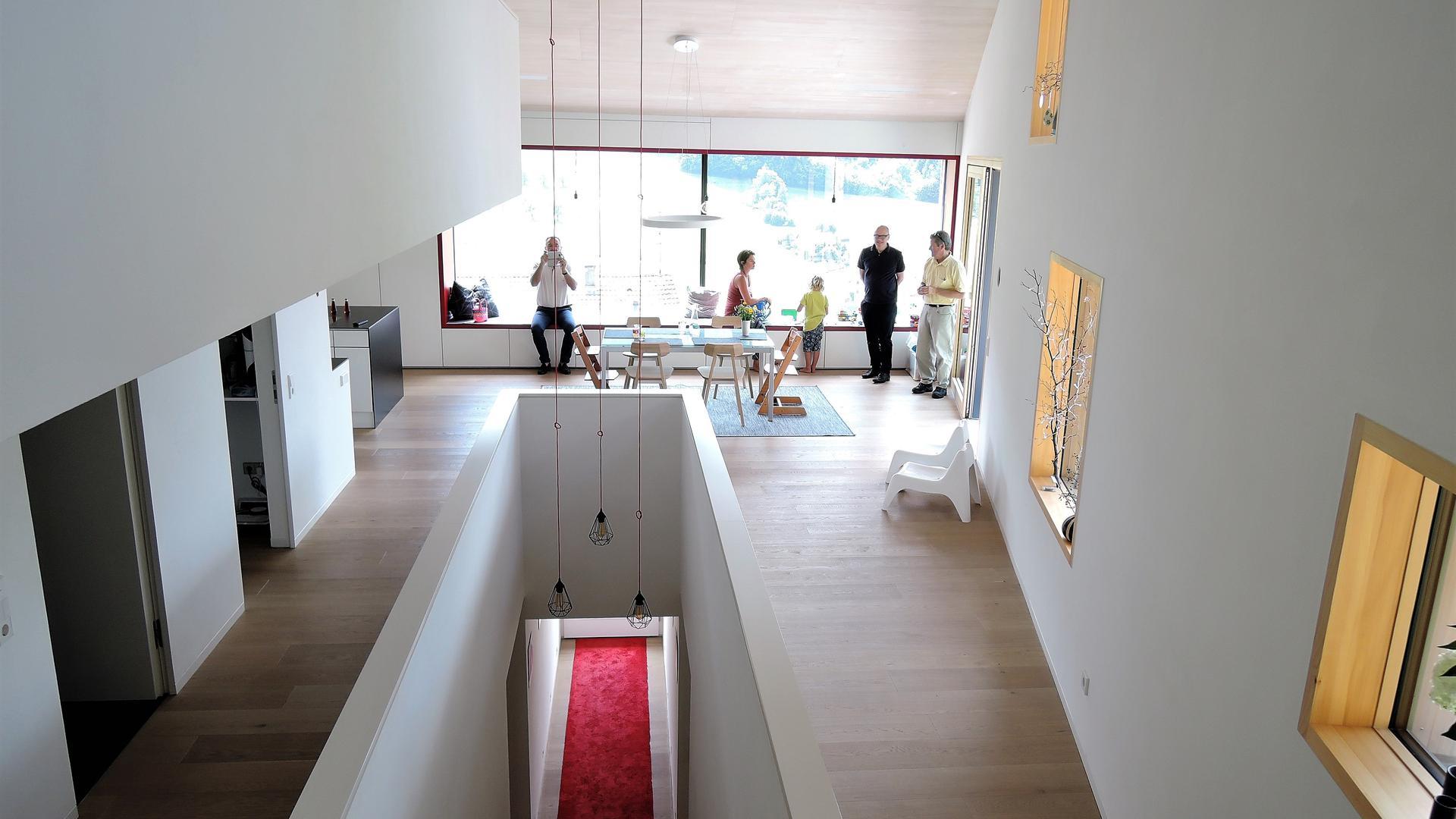 Wolkenkuckuckshaus von ÜberRaum Architects in Seebach: Das Einfamilienhaus erhielt 2017 die Hugo-Häring-Auszeichnung des Bundes Deutscher Architekten (BDA).