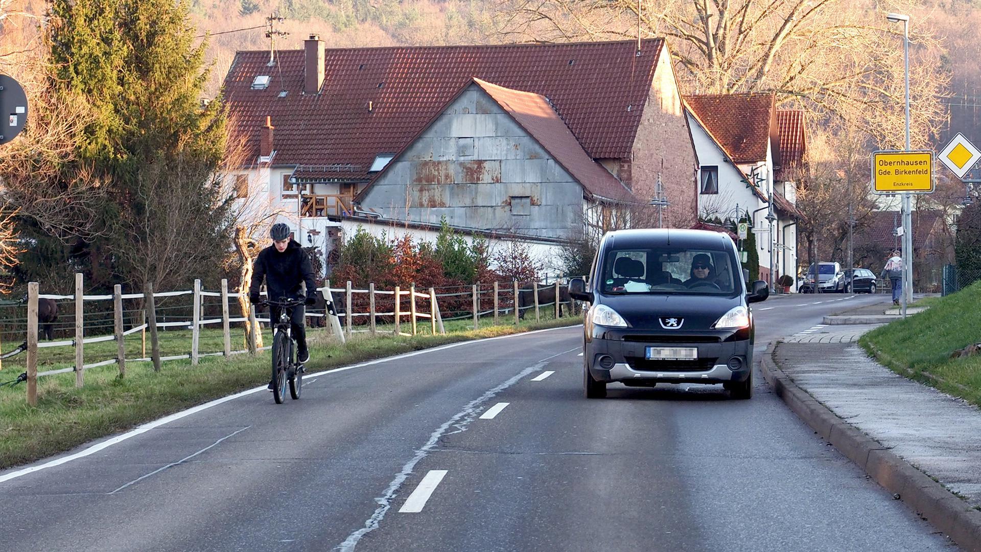 Radfahrer sich jetzt sie richtig wie verhalten Sie Möchten