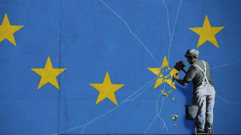Banksy-Wandbild zum Brexit