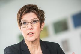 CDU-Politikerin und Bundesverteidigungsministerin Annegret Kramp-Karrenbauer.