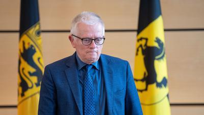 Fritz Kuhn (Bündnis 90/Die Grünen) bei einem Termin.