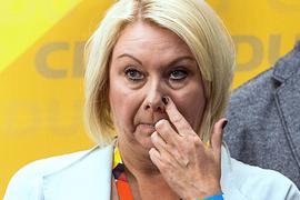 Ist im Alter von nur 53 Jahren auf einem Flug gestorben:CDU-Politikerin Karin Strenz.