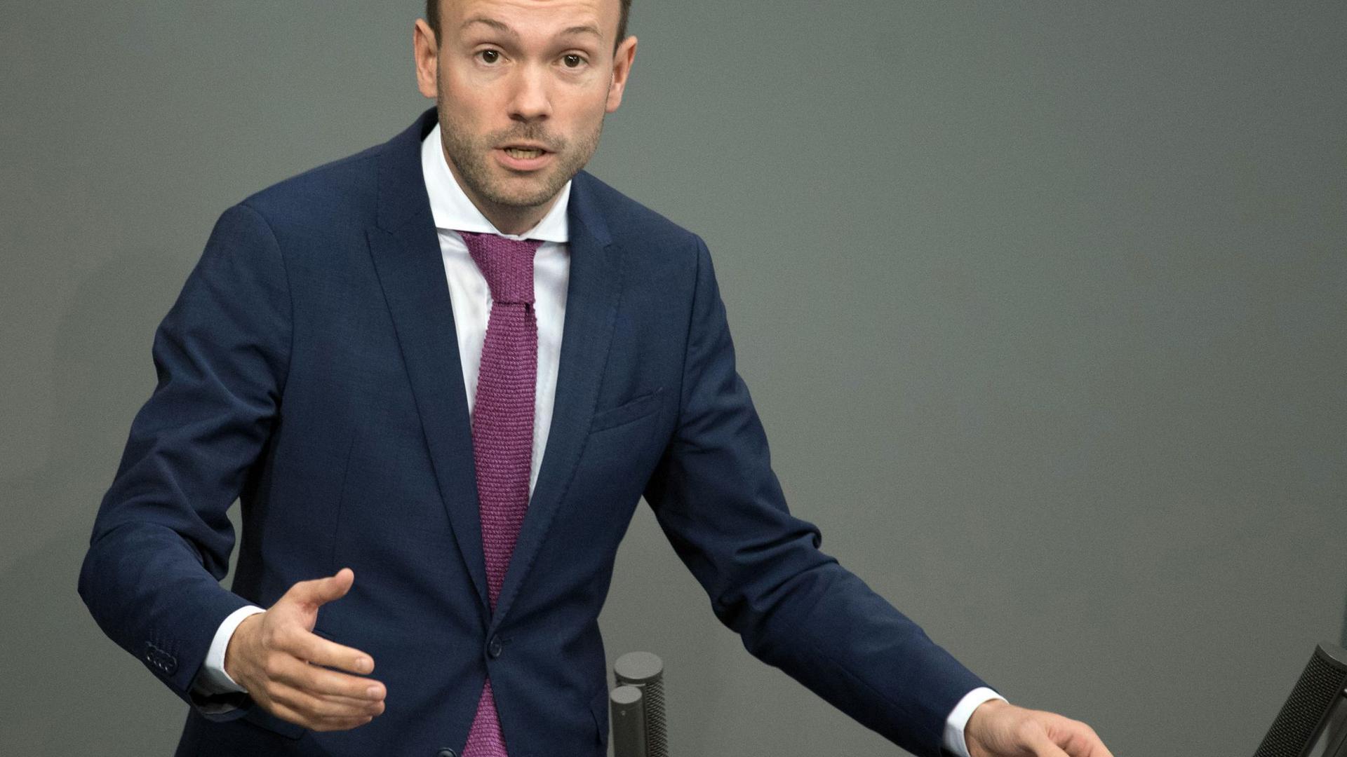 CDU-Bundestagsabgeordneter Nikolas Löbel.