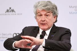 Thierry Breton, EU-Kommissar für Binnenmarkt und Dienstleistungen.