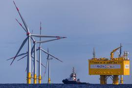 Offshore-Windpark «Baltic 2» der EnBW.