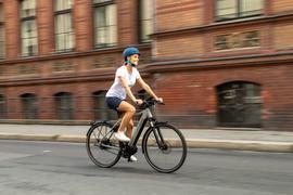 E-Bike in einer tadt
