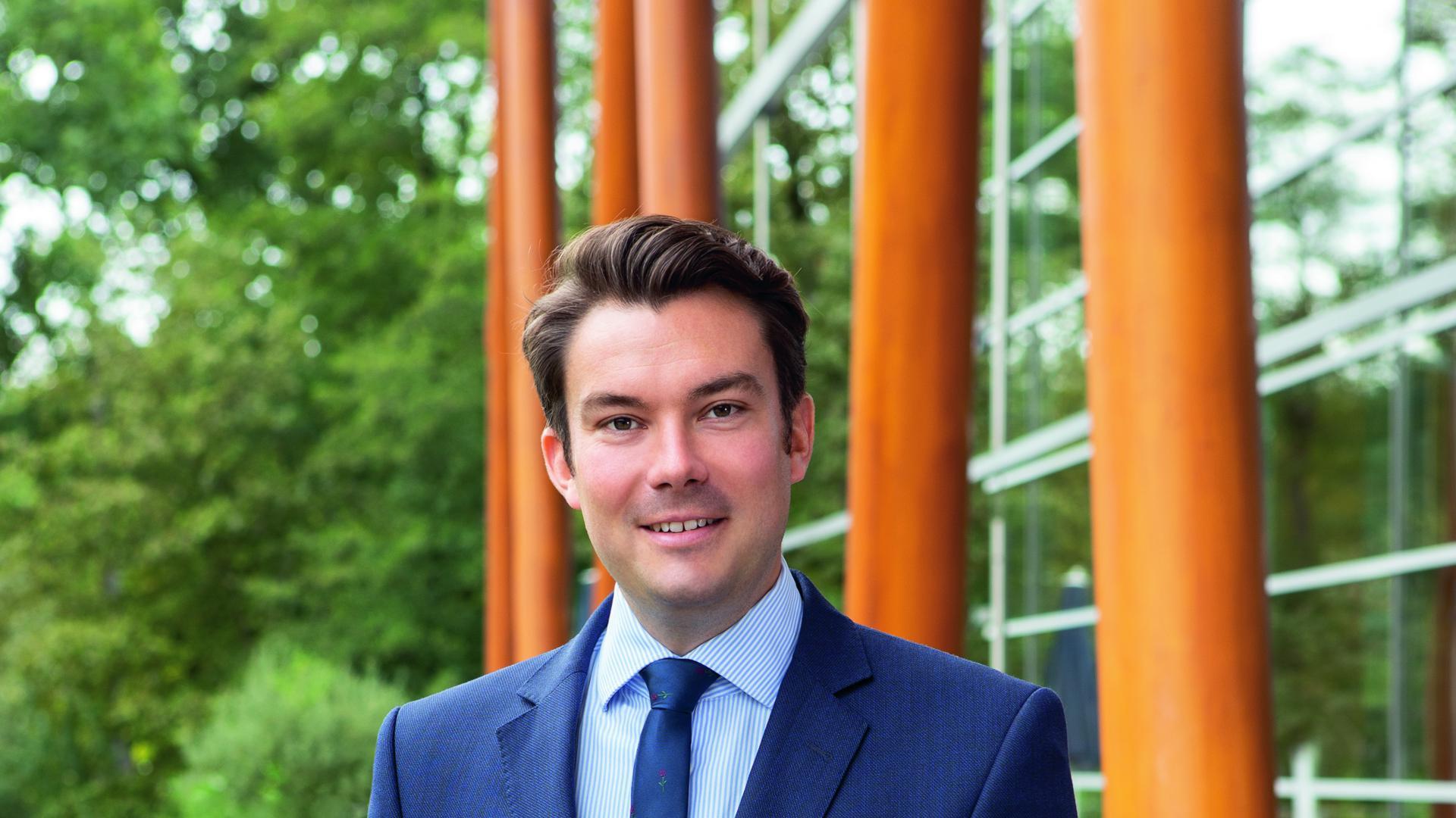 Stephan Jager, Geschäftsführer Weber-Haus