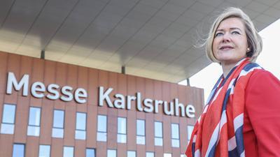 Chefin der Messe Karlsruhe Frau Britta Wirtz