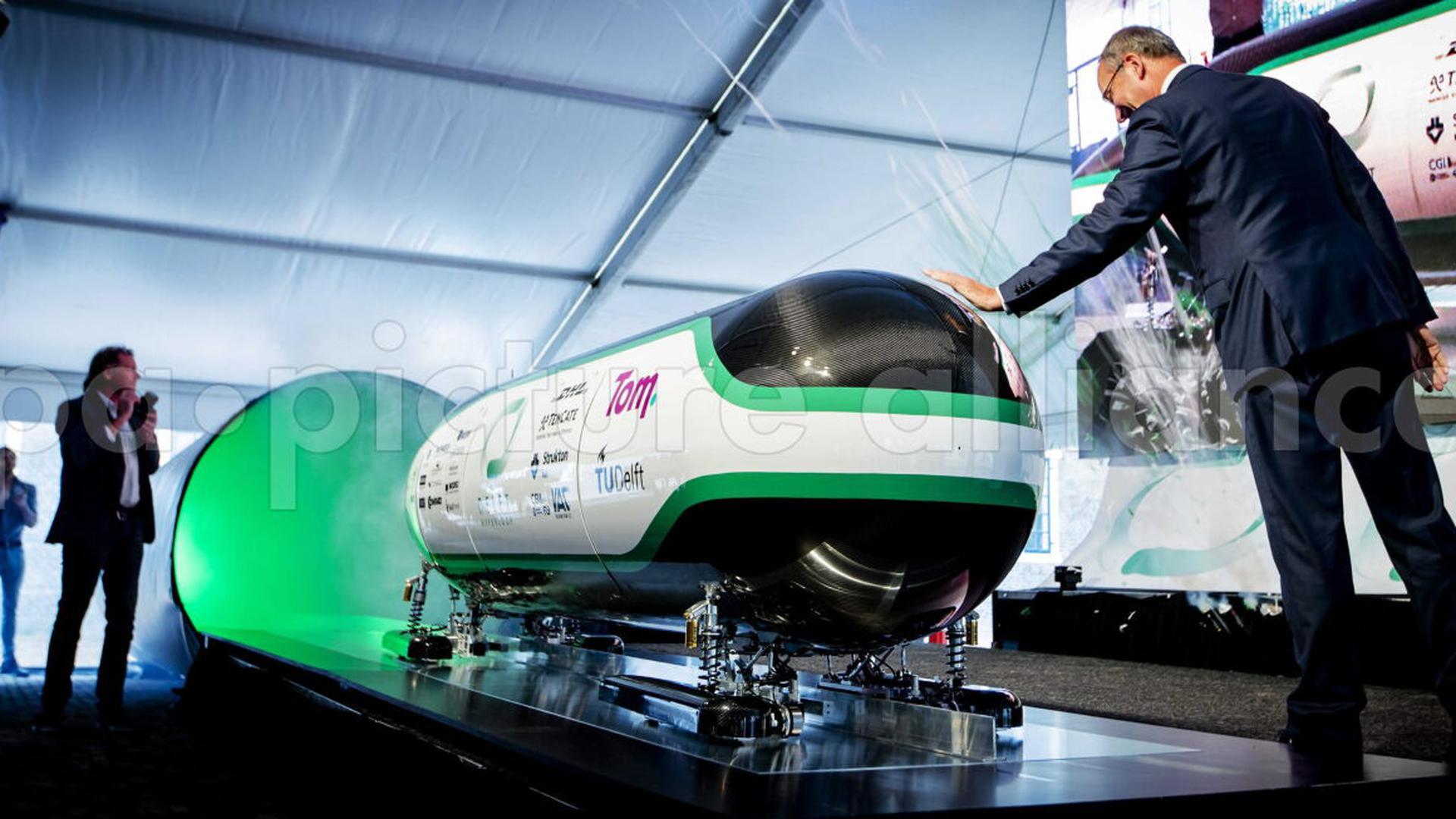 Hyperloop-Fahrzeug