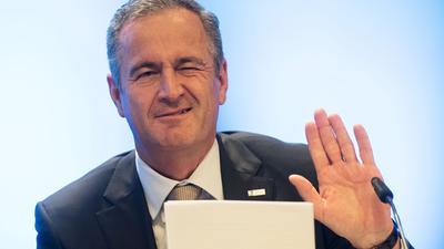 Der Vorstandsvorsitzende des Energiekonzerns EnBW, Frank Mastiaux