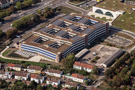 Zentrale des Unternehmens dm-Drogeriemarkt