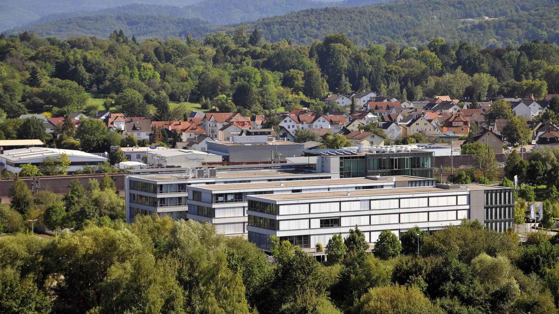 Luftbild Grenke Leasing in Baden-Baden