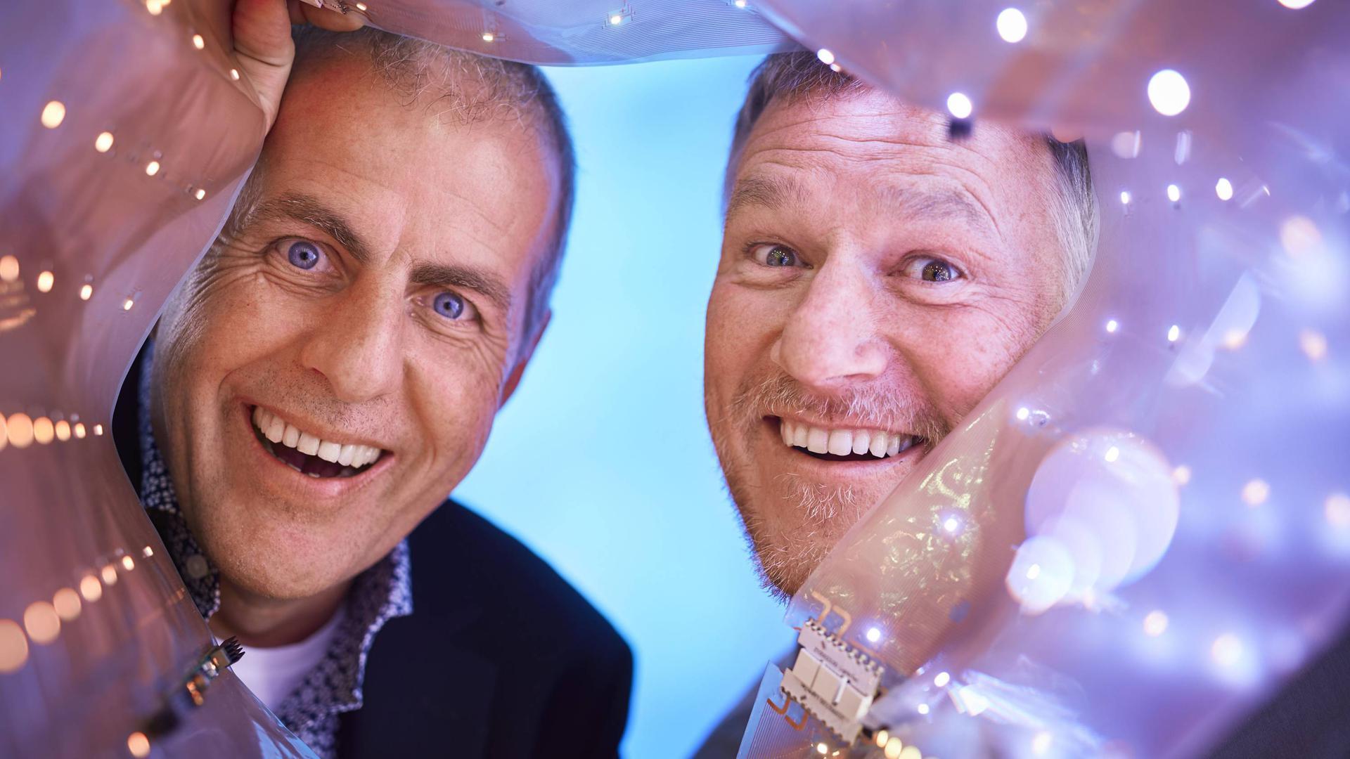 LightnTec-Chefs Florian Kall und Lutz Nehrhoff von Holderberg