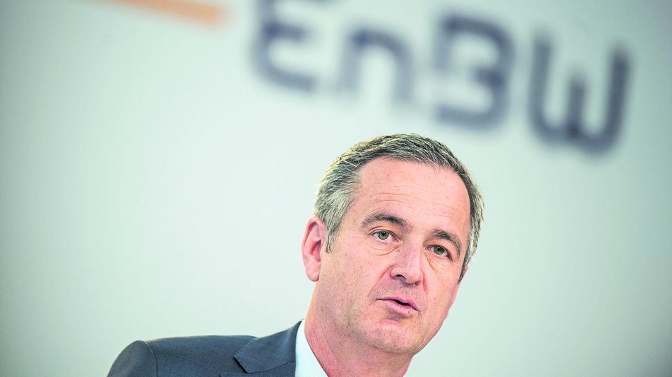 Frank Mastiaux, Vorsitzender des Vorstands des Energiekonzerns EnBW