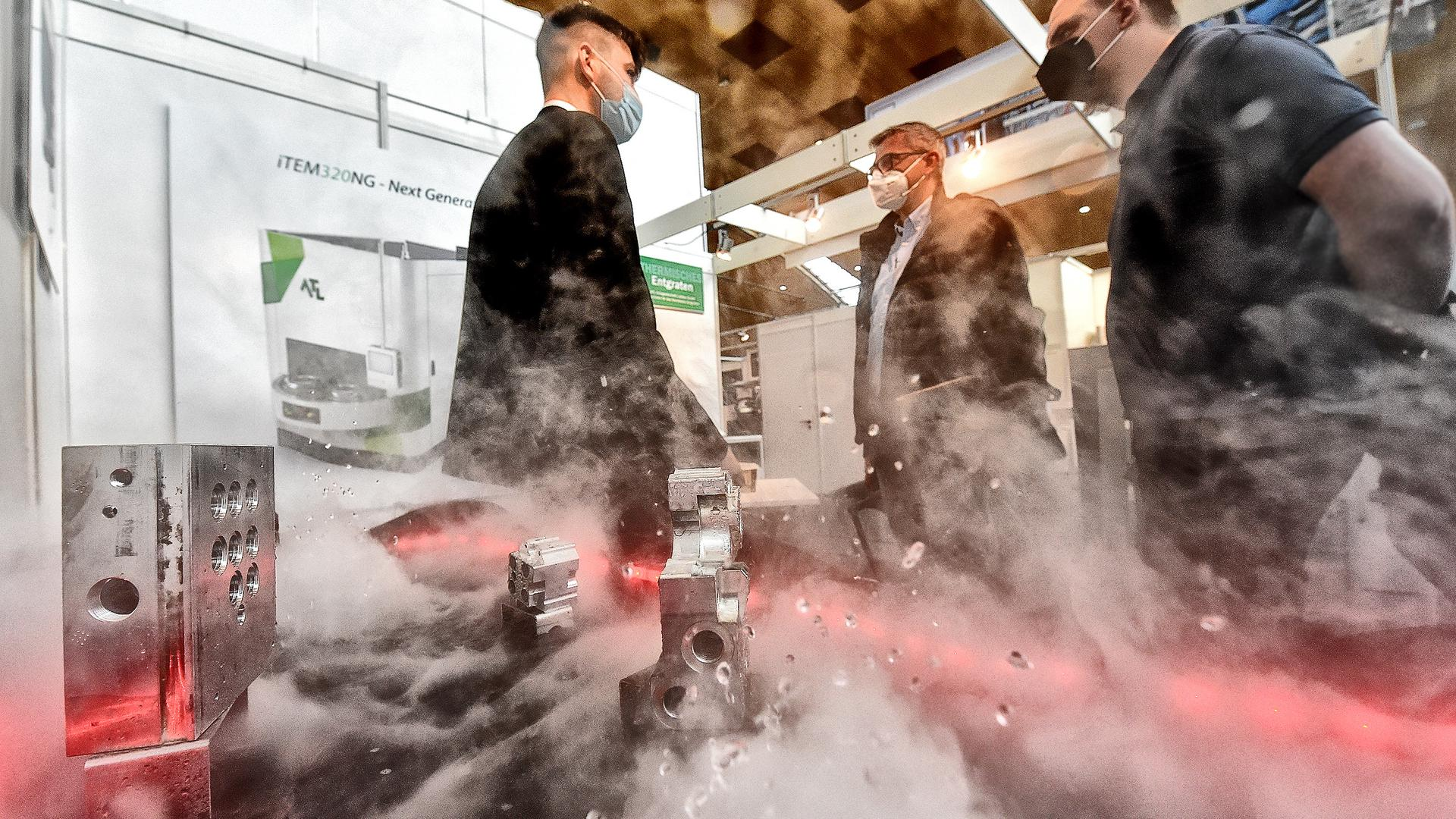 Messe Deburring EXPO Entgratungstechnik