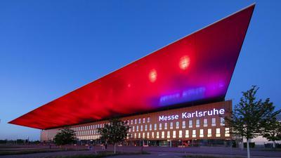Gebäude der Messe Karlsruhe